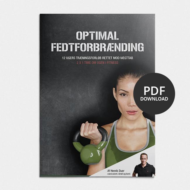 Image of Optimal fedtforbrænding 2x1 time om ugen i fitness