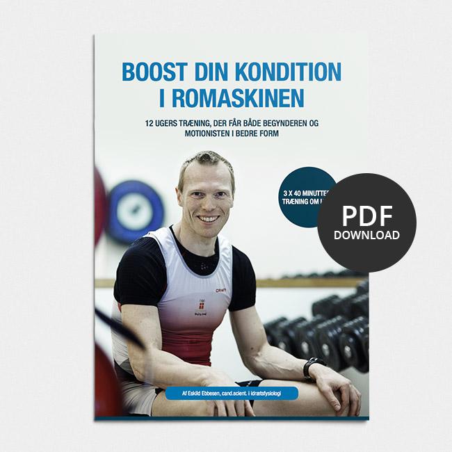 Image of Eskild Ebbesen: Boost din kondition i romaskinen