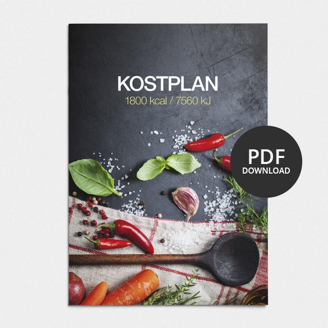 Image of Kostplan 1800 kcal