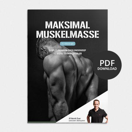 Træningsplan muskelmasse
