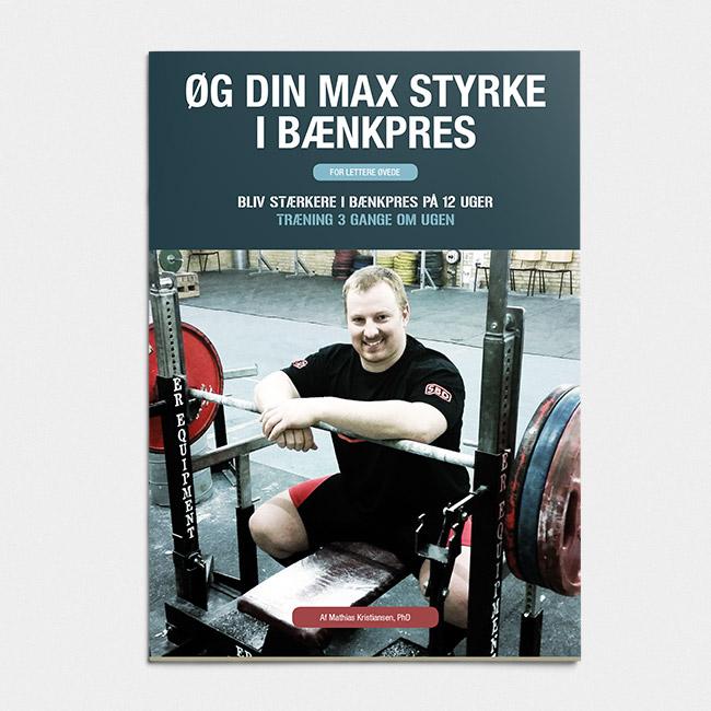 Øg din max styrke i bænkpres