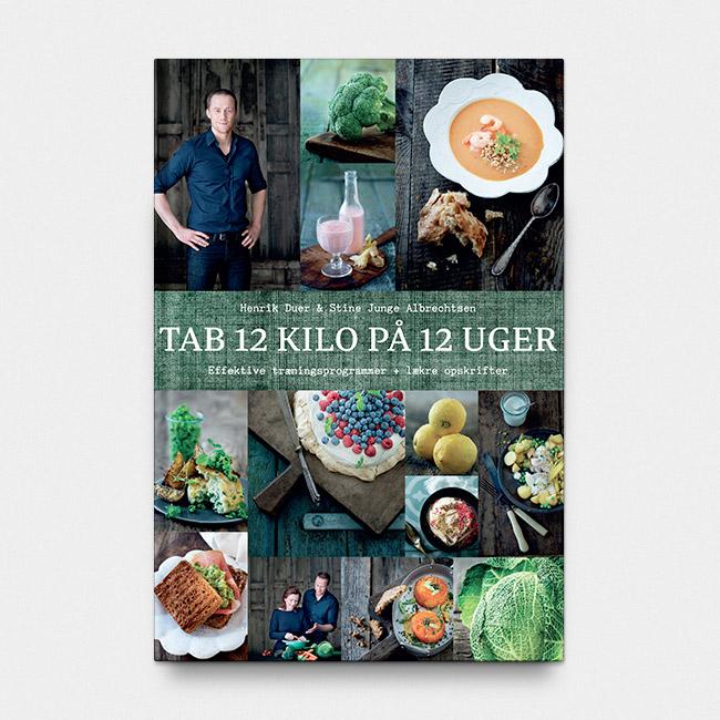 Image of Tab 12 kg på 12 uger (signeret af Henrik Duer) - paperback