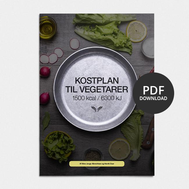 Image of Kostplan til vegetarer: 1500 Kcal / 6300 KJ