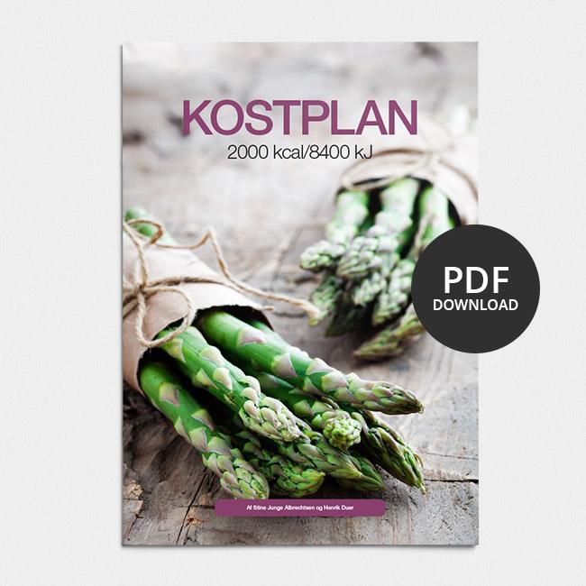 Image of Kostplan 2000 kcal