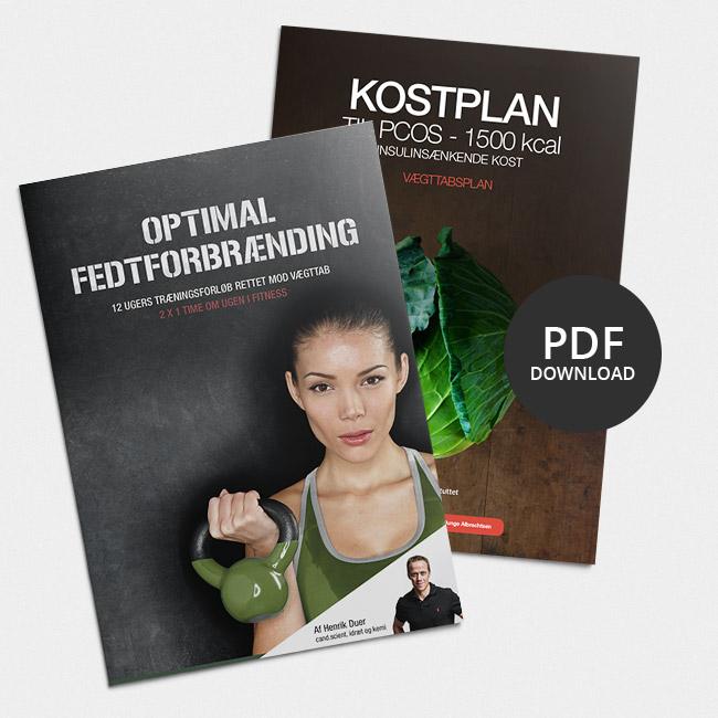 PCOS - sund, veltrænet og slank forløb rettet mod PCOS