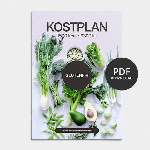 Image of Glutenfri kostplan 1500 kcal (vægttab)