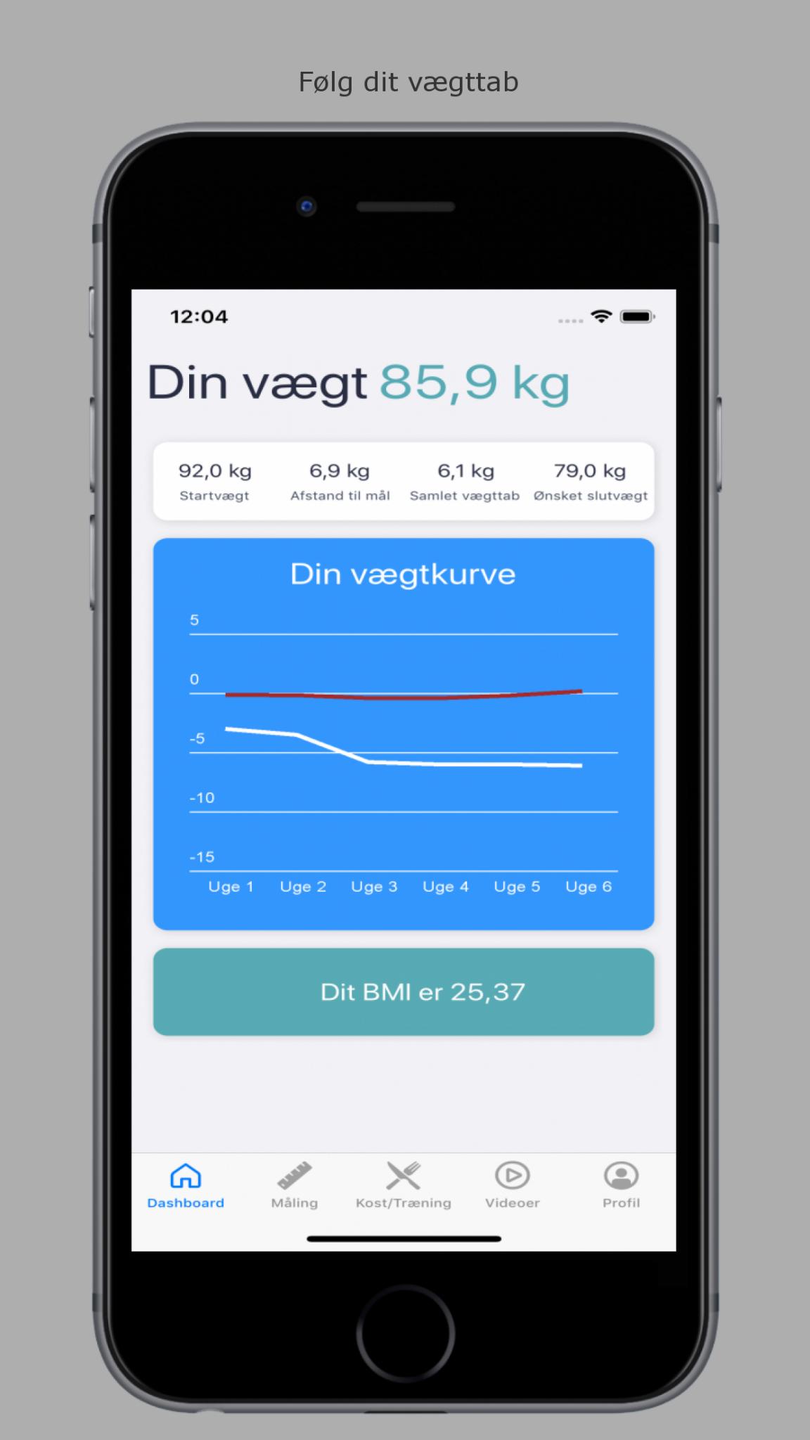 """Image of   Fit på 12 uger """"Foredrag og app"""""""